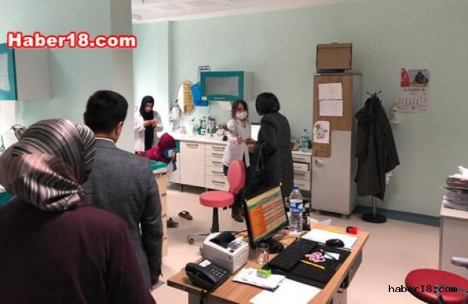 İlçe Başkanı Akbaba Diş Sağlı Personelini Ziyaret Etti Siyaset - Çankırı