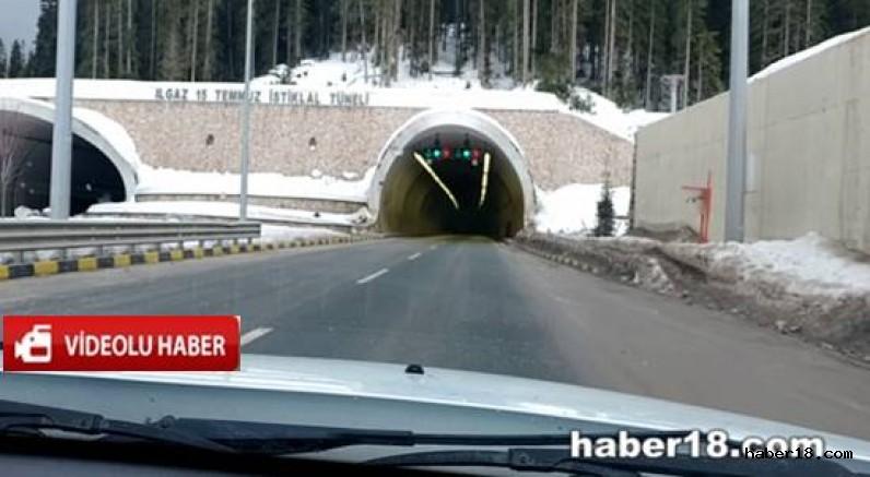 Çankırı - Ilgaz 15 Temmuz İstiklal Tüneli Video Görüntüleri - Genel Haberler haber18 haberleri