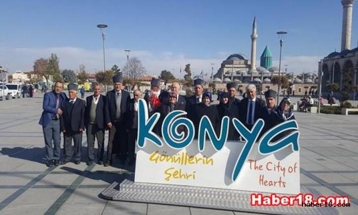 Çankırı - Ilgaz Belediyesi  Gazilerimiz İçin Konya'ya Gezi Düzenledi - Çankırı Ilgaz haber18 haberleri