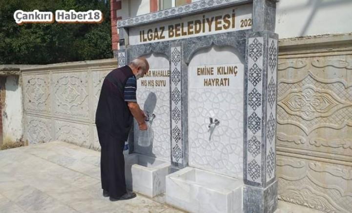 Çankırı - Ilgaz'da Her Mahalleye Hışhış Suyu - Ilgaz haberleri haber18 haberleri