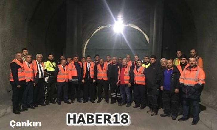 Çankırı - Ilgaz Tüneli Güvenlik Toplantısı Yapıldı - Çankırı Ilgaz haber18 haberleri