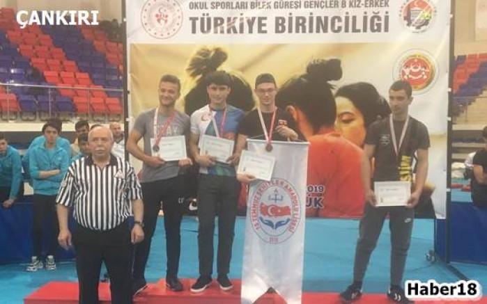 İlimiz Öğrencisi Türkiye Şampiyonu Oldu - Spor - Çankırı - haber18
