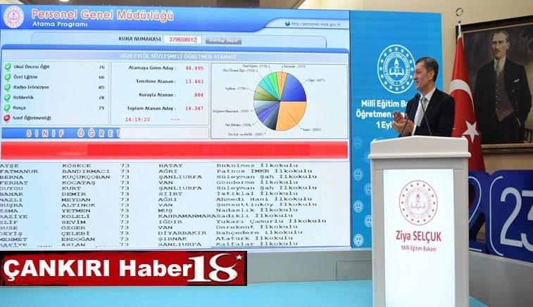 Milli Eğitim Bakanlığı öğretmen ataması kapsamında Çankırı'ya 130 öğretmen ataması yapıldı - Çankırı Eğitim Haber18 - attorney at law ,boat yacht  wealth luxury