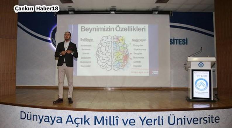 Çankırı - İngilizce Düşünme Semineri Gerçekleştirildi - Üniversite Çankırı haber18