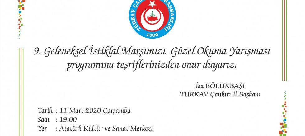 İstiklal Marşını Güzel Okuma Yarışması Yapılıyor - STK - Çankırı -STK - Haber 18 - attorney at law ,boat yacht  wealth luxury