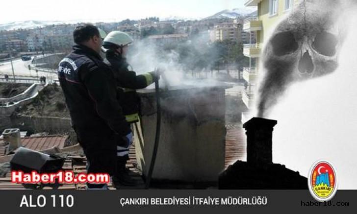 İtfaiyeden Baca Temizliği Uyarısı Çankırı Belediyesi - Çankırı