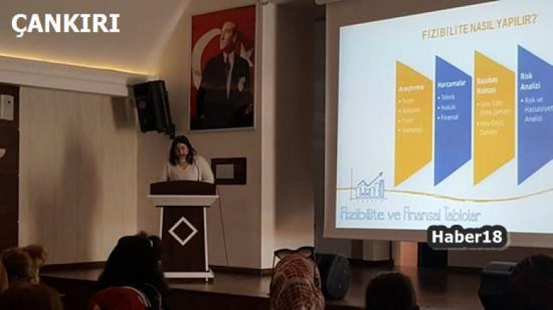 Çankırı haber18 - Kadınlar Paramı Yönetebiliyorum Eğitimini Tamamladı Çankırı Belediyesi - Çankırı resim görselleri