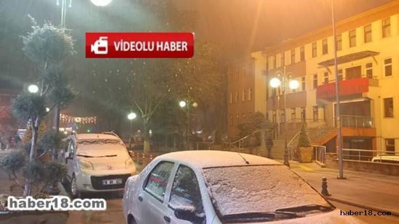 Çankırı haber18 - Kar Çankırı'da Etkili Olmaya Başladı Genel - Çankırı resim görselleri