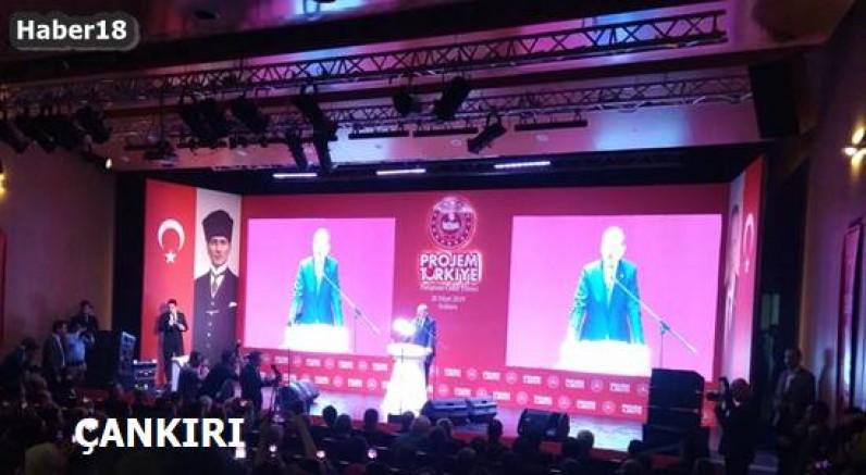 Çankırı haber18 - Kaya Tuzu Tanıtım Projesi Projem Türkiye Sergisinde Çankırı Valilik - Çankırı resim görselleri