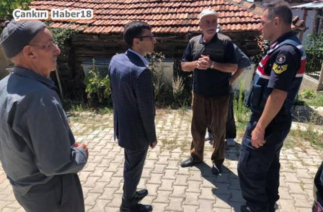 Kaymakam Kılıç, Ayva/ Belkavak ve Çiçek Köylerini Ziyaret Etti - Yapraklı - Çankırı - haber18