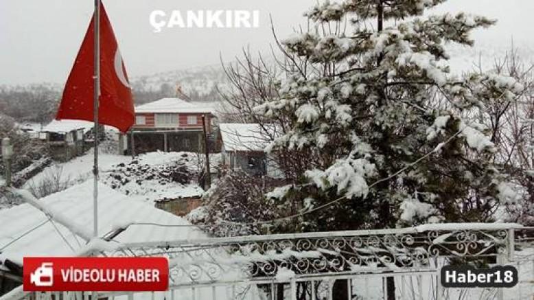 Çankırı Haber18 - Kış Çankırı'ya Geri Geldi., Çankırı Kurşunlu - Çankırı, haber