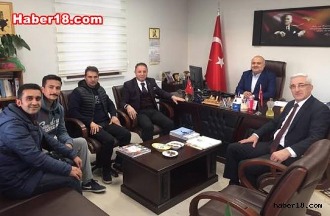 çankırı - Kızak Federasyonu Başkanı Ilgaz'da Çankırı Ilgaz