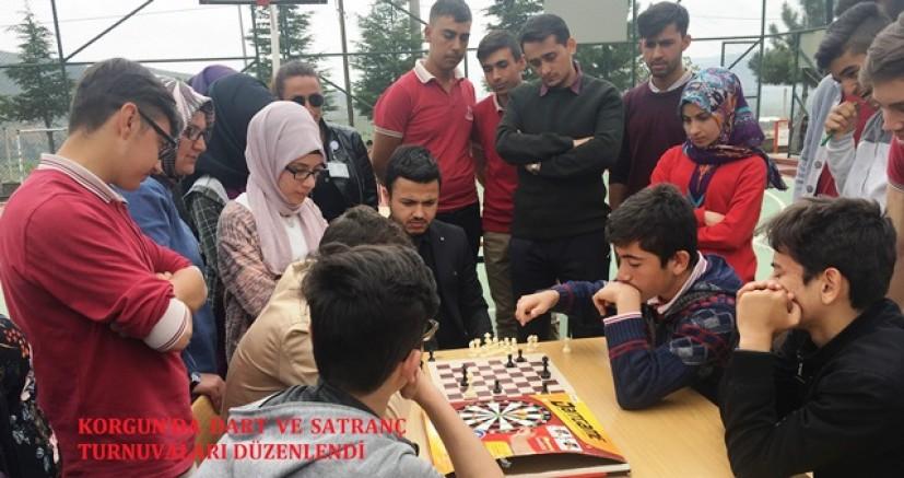 Çankırı - Korgun'da Dart ve Satranç Turnuvaları Düzenlendi - Korgun Çankırı haber18