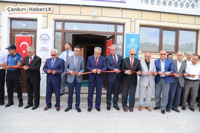 Çankırı - Korgun'da Ertuğrul Gazi Cami Açılışı Yapıldı. - Korgun Haberleri haber18 haberleri