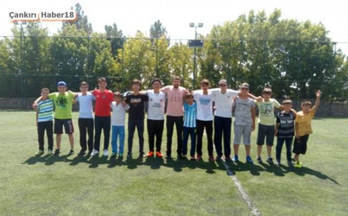 Çankırı - Korgun'da Ödüllü Futbol Turnuvası - Korgun Haberleri haber18 haberleri