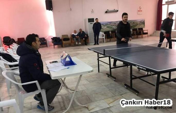 Çankırı - Korgun Masa Tenisi Turnuvası Sona Erdi - Korgun Haberleri haber18 haberleri