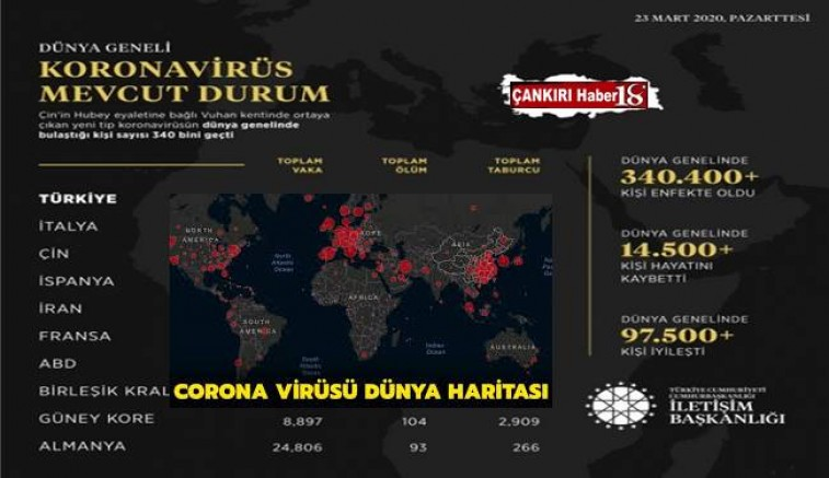 Koronavirüste son rakamlar - Genel Haber - Çankırı -Genel Haber - Haber 18 - attorney at law ,boat yacht  wealth luxury