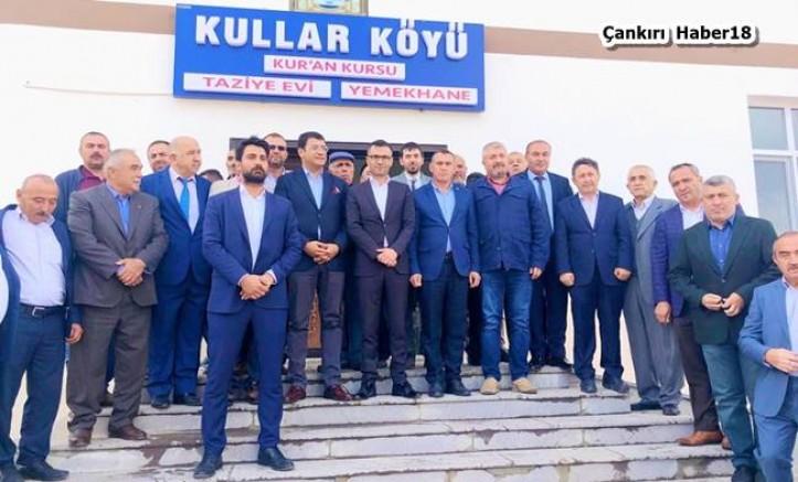 Kullar Köyünde Çok Amaçlı Sosyal Tesis Açıldı - Yapraklı - Çankırı - haber18