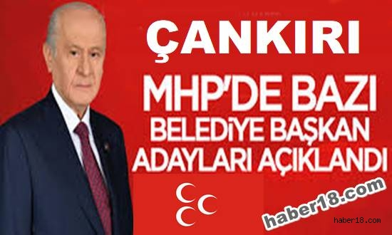 Çankırı haber18 - MHP 6 İlçede Başkan Adayı Belli Oldu Siyaset - Çankırı resim görselleri