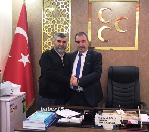 MHP Çankırı İl Başkanı Hasan Çakır Oldu Genel - Çankırı