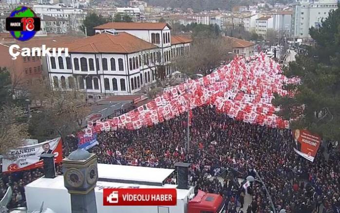 MHP Genel Başkanı Devlet Bahçeli, İlimizi Ziyaret Etti Siyaset - Çankırı