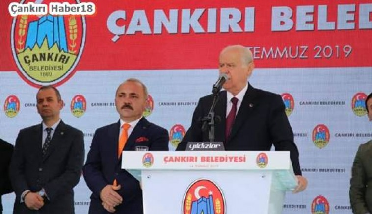 MHP Lideri Bahçeli, Belediyeyi Ziyaret Etti  - Siyaset - Çankırı haber 18