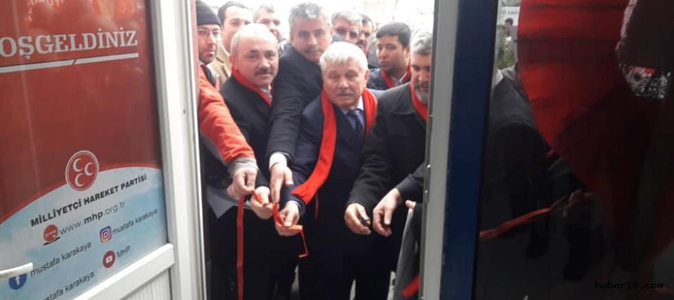 Çankırı Haber18 - MHP Şabanözü Seçim Koordinasyon Merkezi Açıldı, Çankırı Şabanözü - Çankırı, haber
