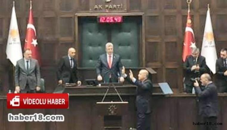 çankırı - Milletvekili Akbaşoğlu, Grup Toplantısına Başkanlık Yaptı Siyaset
