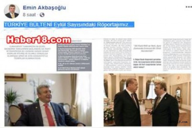 Milletvekili Ayanoğlu'nun Türkiye Bülteni Röportajı Milletvekili Emin Akbaşoğlu - Çankırı