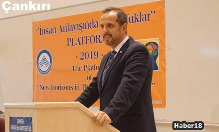 Milletvekili Çivitçioğlu Konferansa Konuşmacı Olarak Katıldı  Siyaset - Çankırı