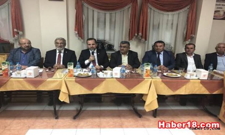 Milletvekili Salim Çivitçioğlu, Muhtarların İstek ve Taleplerini Dinledi Çankırı Kurşunlu - Çankırı