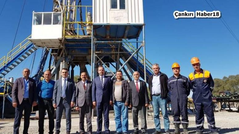 Milletvekili Çivitcioğlu Sondaj Çalışmalarını İnceledi - Atkaracalar - Çankırı - haber18