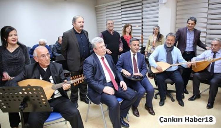 çankırı - Milletvekili ve Başkan, SUNAM Türküsüne Eşlik Ettiler Siyaset