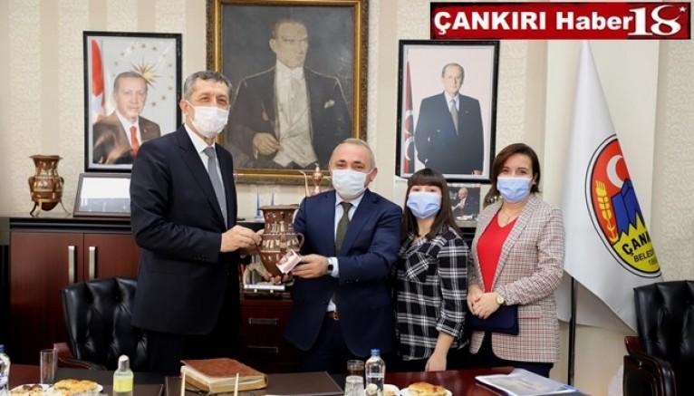 Milli Eğitim Bakanı Ziya Selçuk, gerçekleştirdiği bir dizi incelemeler kapsamında Çankırı Belediyesi'ni ziyaret etti - Çankırı Belediye Haber18 - attorney at law ,boat yacht  wealth luxury