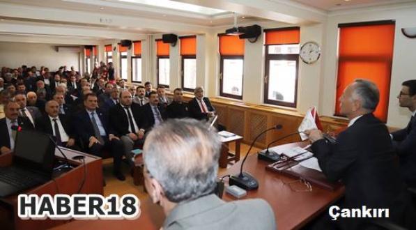 Muhtarlar Toplantısı Valilik Birlik Salonunda Yapıldı Çankırı Valilik - Çankırı