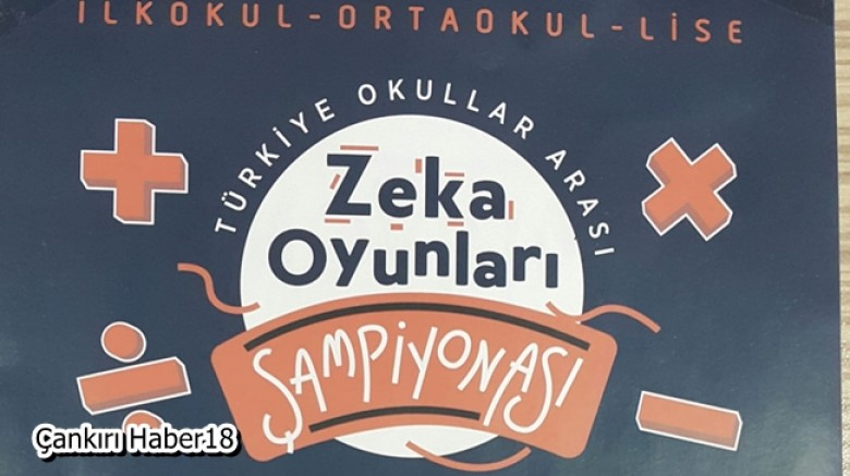 """Türkiye Zeka Oyunları Organizasyonu""""nda bölge finaline katılmaya hak kazandılar. - Çankırı Eğitim Haber18 - attorney at law ,boat yacht  wealth luxury"""
