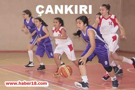 Okul Sporları Küçük Kız- Erkek Basketbol Türkiye Şampiyonası Yarı Final Müsabakaları Tamamlandı Çankırı Spor - Çankırı