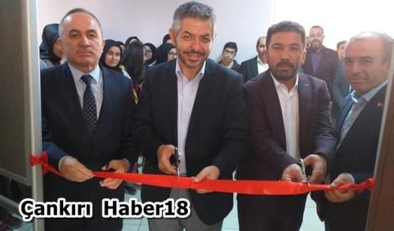 ÖNDER Genel Başkanı İlimizde Kütüphane Açtı - STK - Çankırı - haber18