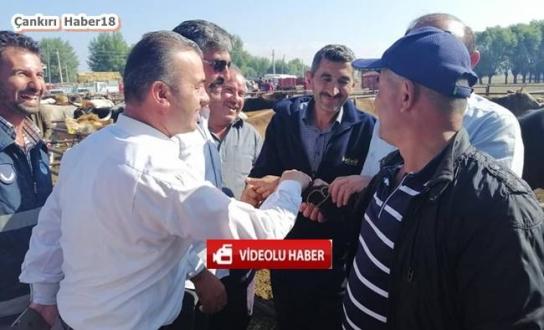 Çankırı - Orta Belediye Başkanı Kurban Pazarını Ziyaret Etti - Orta Haberleri haber18 haberleri