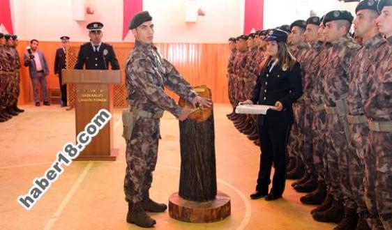 Polis Meslek Eğitim Merkezi Mezuniyet Töreni