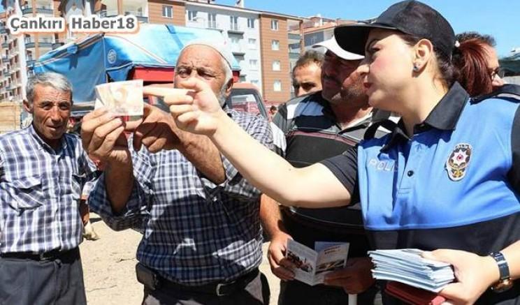 Polisler Vatandaşları Uyardılar. Bilgi Verdi - İl Emniyet Müdürlüğü - Çankırı - haber18