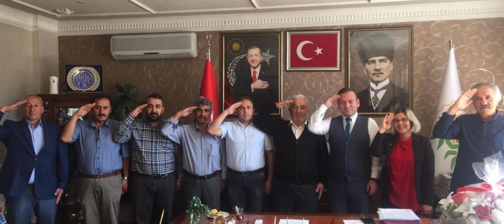 Şabanözü Belediye Meclisi Barış Pınarı Harekat'ına Destek Bildirisi  - Şabanözü - haberleri - Çankırı - haber18