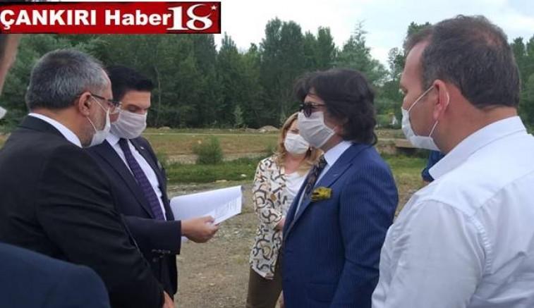 Şabanözü Belediye Başkanı Faik Özcan, Konukları İle Adliye Yer Tespiti Ve İstişarelerde Bulundu - Çankırı Şabanözü Haber18 - attorney at law ,boat yacht  wealth luxury