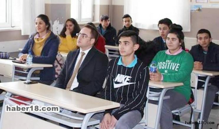 Şabanözü Kaymakamı Okulları Ziyaret Etti