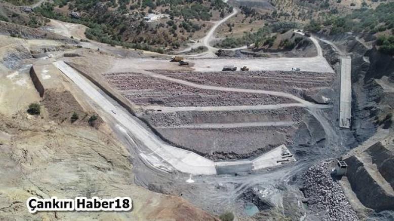 Çankırı - Şabanözü Kutluşar Barajının Yapımı Devam Ediyor - Şabanözü - haber18