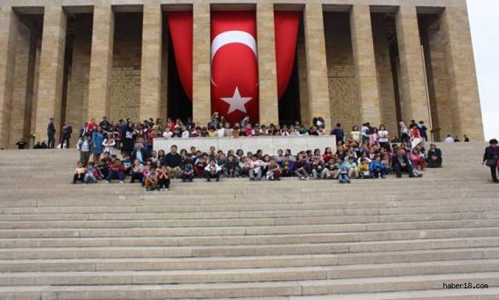Şabanözü Şehitler İlkokulu Öğrencileri Başkent Ankara'da