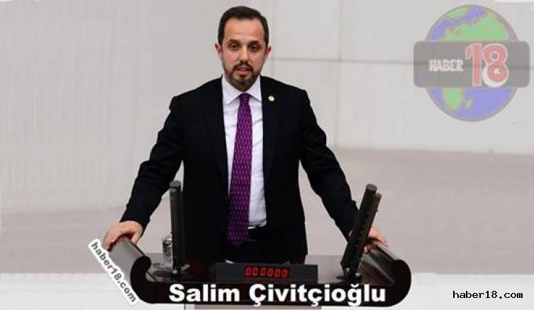 Salim Çivitçioğlu, Yenil Yıl Mesajı Yayınladı