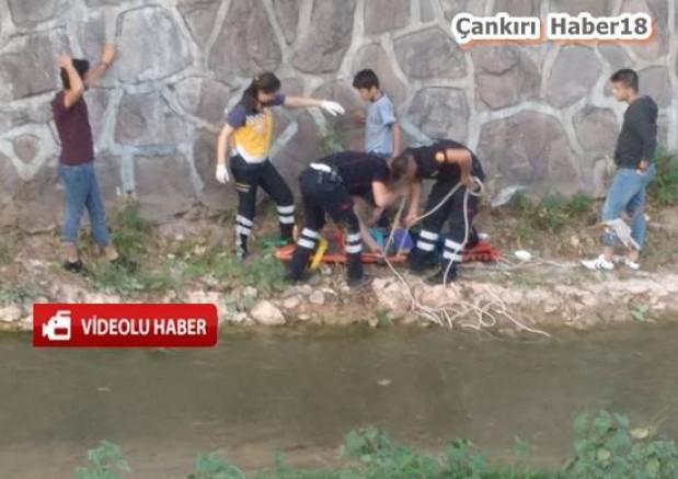 Şehir Merkezinde Bir Çocuk Çaya düştü - Genel Haber - Çankırı haber 18