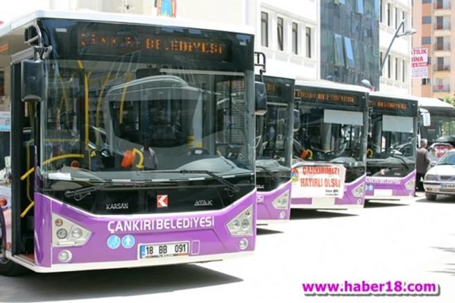 çankırı - Şehir Merkezinde Toplu Taşımaya Yeni Duraklar Eklendi Çankırı Belediyesi