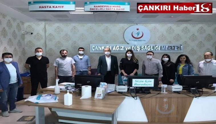 Sağlık-Sen Çankırı Şubesi Başkanı Tuna Dinç Sağlık Çalışanlarının Bayramını Kutladı - Çankırı STK Haber18 - attorney at law ,boat yacht  wealth luxury